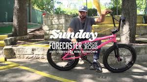 AARON ROSS | 2019 Sunday Bikes Signature Forecaster (Rundown) | BMX -  YouTube