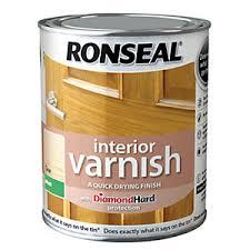 Ronseal Interior Varnish Matt Clear 250ml Wickes Co Uk