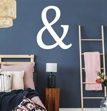 Ampersand Wall Sticker Decal Vinyl Adhesive Letter And Symbol Quote Ebay