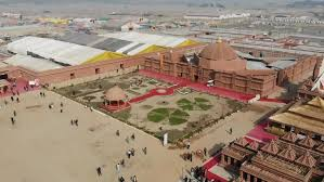saransh conceives the 'kumbh mela camp' as a traditional indian fortress