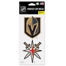 Vegas Golden Knights Stickers Decals Fanatics