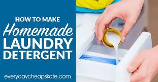 original diy laundry detergent powder
