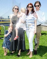 Ada Morgan, Alexis Bryan Morgan, Freya Morgan, Ashley Bryan, Brian Solon at  Mothers Day Carnival in