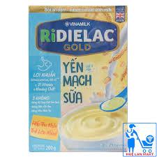 CHÍNH HÃNG] Bột Ăn Dặm Vinamilk Ridielac Gold Yến Mạch Sữa Hộp ...