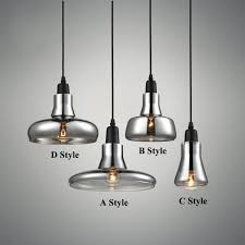 light bulb pendant light copper glass