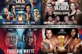 SecondsOut Boxing News - Main News - Alexander Povetkin vs Dillian Whyte  rematch confirmed plus Sky Sports autumn schedule