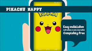 live wallpaper gamers pikachu happy