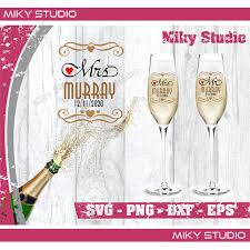 Champagne Flutes Wedding Svg Png Files 2020 Wedding Toasting Flutes Wedding Favors Champagne Glass Wedding Decal Bridesmaid Gift Ideas Sold By Mikystudio On Storenvy