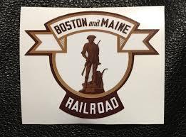 Boston Maine Vinyl Sticker Mohawk Design