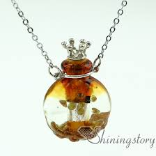 round essential oil necklace diffusers