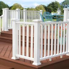 Veranda Regency Enclave 4 In X 4 In X 48 In White Capped Composite Post Sleeve Kit Post Slv Kit2 48 Wh The Home Depo Post Sleeve Veranda Porch And Balcony