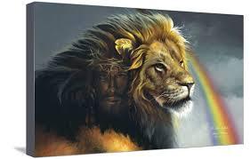 Lion Of Judah Stretched Canvas Print Wall Art By Spencer Williams Walmart Com Walmart Com