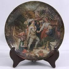 decoupage art plate marriage proposal