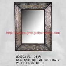 china rectangular wall mirror frame