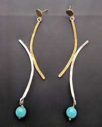 es 150 es 150 earrings with stones