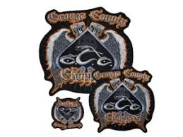 Occ Embroidered Spade Motorcycle Patch Large Orangecountychoppers