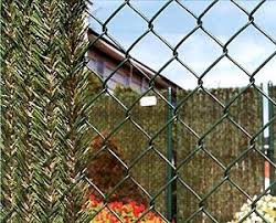 Hedge Link Is One Of The Most Unique Styles Of Chain Link Enhancement Available This Product Creates A Natural Hedge Look Urban Garden Hedges Chain Link Fence