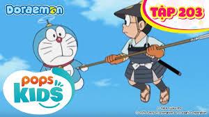 Doraemon Tập 203 - Tổ Tiên Cố Lên - Hoạt Hình Tiếng Việt - Marishka