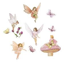 Decalmile Fairies Wall Decals With Wings Buy Online In Malta At Desertcart