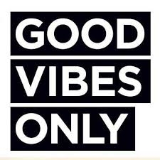 Good Vibes Only Wall Decor Vinyl Decal Laptop Bumper Car Sticker Great Offices Ebay