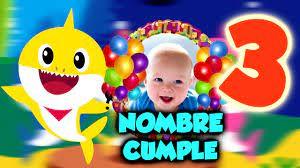 Baby Shark Video Invitacion De Cumpleanos Dv Diseno Visual