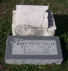 "Mary ""Polly"" Patterson Keller (1820-1900) - Find A Grave Memorial"