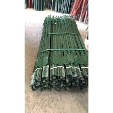 1 1 2 In X X 7 Ft Green Steel Farm Fence T Post In The Fence Hardware Department At Lowes Com