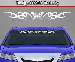 116 Heart Rear Window Decal Tribal Flame Sticker Car Car Truck Parts Car Truck Parts Graphics Decals