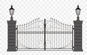 Gate Wrought Iron Clip Art Png 2324x1467px Gate Arch Architecture Black And White Door Download Free