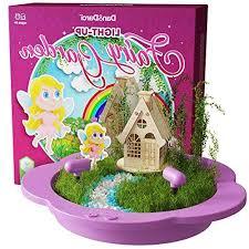 light up fairy garden kit create plant