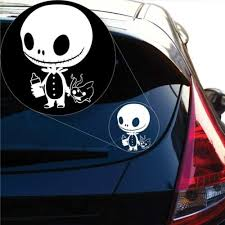 Laptop 1051 Nightmare Before Christmas Baby Jack Decal Sticker For Car Window Collectibles Decals Stickers