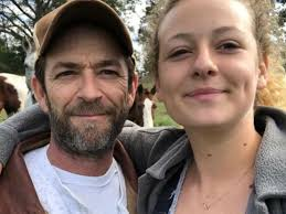 Luke Perry's Daughter Sophie Shares Cute Post Dedicated To Her Brother Jack  | Celebrity Insider