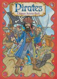 Pirates Ultimate Activity Book, New, Sonia Dixon Design Book | eBay