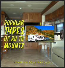 popular types of rv tv mounts