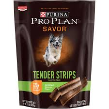 purina pro plan savor tender strips dog