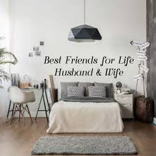 Best Friends For Life Husband Wife Wall Decal For Spouses Vinyl Decor Customvinyldecor Com