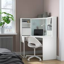 Micke Corner Workstation White 39 3 8x55 7 8 Ikea