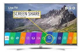 how to do screen mirroring on lg smart tvs