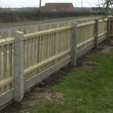 Concrete Fence Post Recessed Free Delivery 50 Miles Of Boston Ebay
