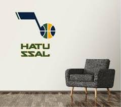 Nba Utah Jazz Cotton Fabric Fat Quarters