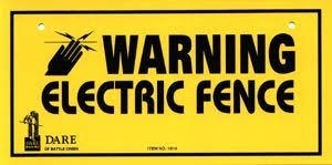 Using Electric Fence On Deer Fence Signs Electric Fence Fence