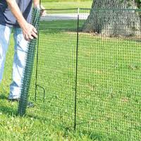 One Step 50 Ft Temporary Fence Kit Memphis Net Twine