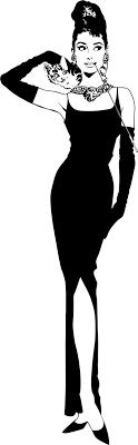 Vinilo Audrey Hepburn figura completa - TenVinilo
