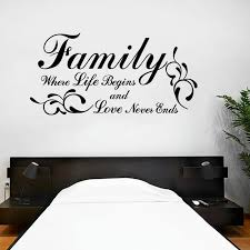 Kililaya Home Family Quote Saying Inspiring Sweet Words Decal Home Living Decoration Wall Decals Wall Stickers Aliexpress