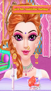 indian makeup and dressup makeover