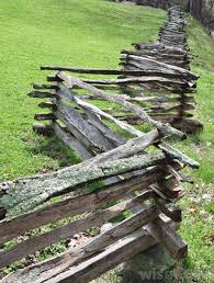 What Are The Different Types Of Wood Rail Fences