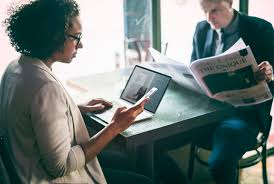 Free Images : businesswoman, cafe, communication, computer, concentrated,  connection, couple, dating, digital device, diverse, employee, focus,  girlfriend, laptop, listening, lunch, meeting, mobile phone, newspaper,  notebook, partner, people, reading ...