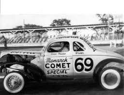 Vintage shots from days gone by! | Old race cars, Stock car ...