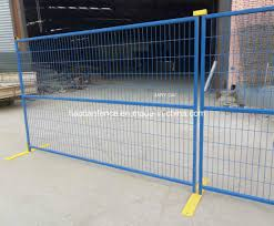 China Professional Canada Standard Temporary Construction Fence Portable Fence Panels For Events China Temporary Fence Temporary Fencing