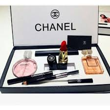 chanel 5 in 1 gift set makeup perfume